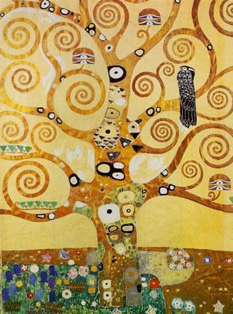クリムトの生命の木